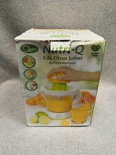 Nutri Q 34210 Electric Quick Press