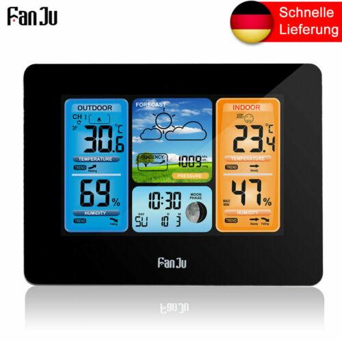 Wetterstation Smart Weather Monitor Uhr mit USB Temperatur und Luftfeuchtigkeit