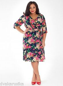 9836bf1de26 Image is loading NWT-Nancy-Plus-Size-IGIGI-Dress-in-Indigo-