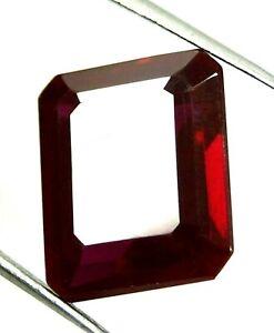 14-10ct-Certified-Natural-Red-Ruby-Untreated-Emerald-cut-VVS-Burma-Myanmar