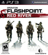 NEW*SEALED PS3 Game OPERATION FLASHPOINT: RED RIVER (Sony PlayStation 3)