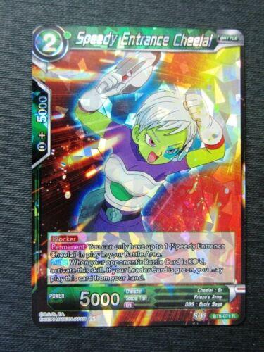 Dragon Ball Super Cards # 6B53 Speedy Entrance Cheelai R Foil