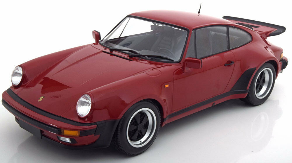 Minichamps 1977 Porsche 911 (930) Turbo Dark röd 1 12 Scale ny Release LE 100
