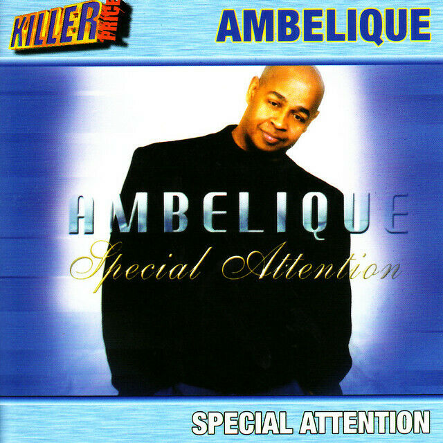 MUSIC CD Ambelique Special Attention Smooth Reggae Lovers Rock Sealed Album New