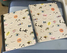 Lot 2 Staples Composition 80 Sheet Amp 70 Spiral Notebook Wide Rule Made In Brazil