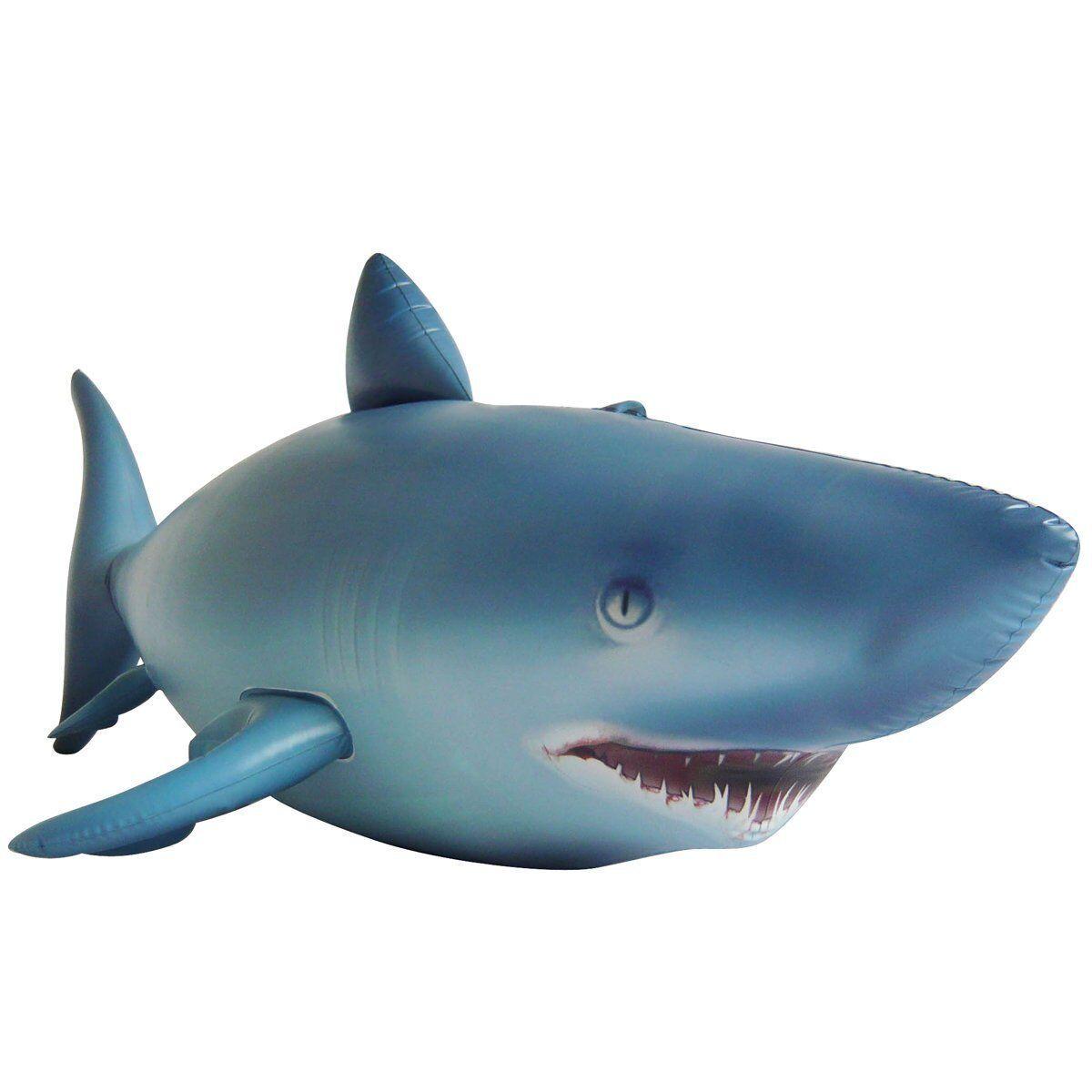 Inflatable Giant Shark - 7ft long and very lifelike