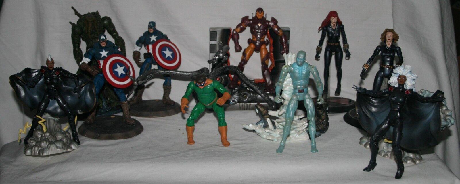 Marvel legends series 8 2004 complete set regular and variants