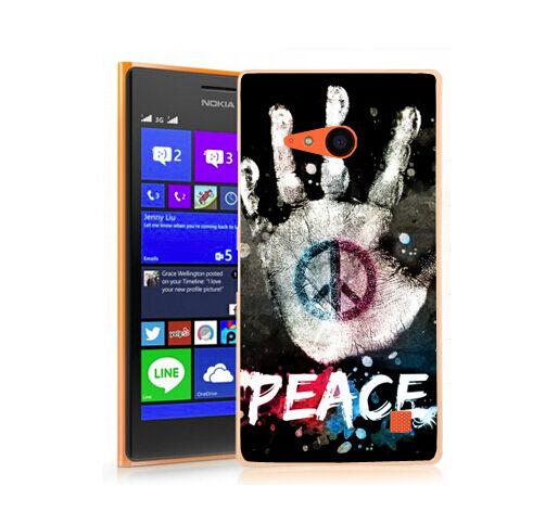 Coque Lumia 735 - Motif Peace