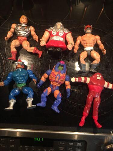 Lot de figurines d'action vintage He-man 1982-1991