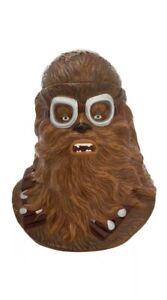 Star-Wars-Solo-Chewbacca-Sculpted-Ceramic-Cookie-Jar-New