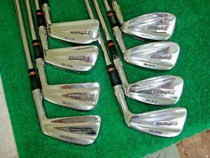Wilson Staff Fluid Feel Tour Blade Iron Set Golf Clubs 3 Pw Stiff Steel Ebay