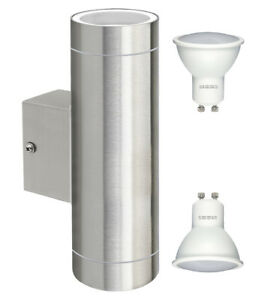 12W-LED-Stainless-Steel-Up-Down-Garden-Wall-Light-Outdoor-IP65-Energy-Saving