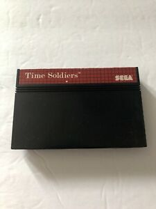 Time Soldiers Sega Master System Cartridge Only 1988 Tested & Working