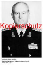 G28 Vizeadmiral Theodor Hoffmann Volksmarine NVA DDR Foto 20x30 cm