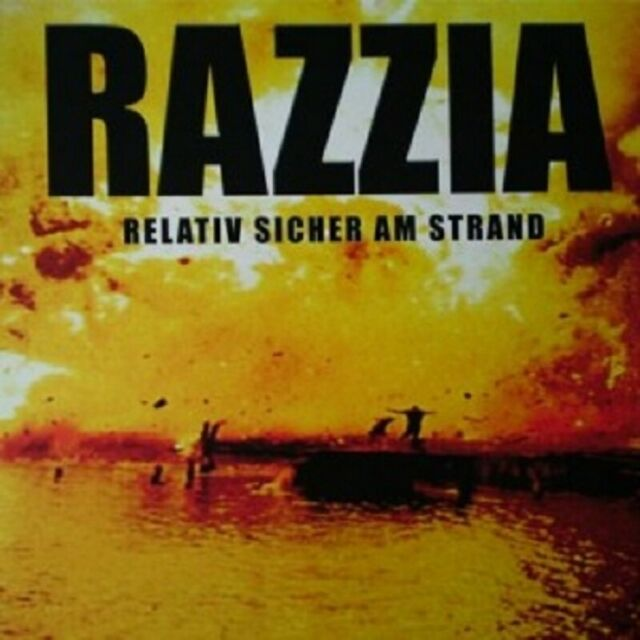 Razzia - Relativ Sicher Am Strand  Vinyl LP  14 Tracks Alternative Rock  Neuware