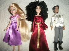 Disney Store Tangled Ever After Mini Princess Doll Set Rapunzel Mother Gothel