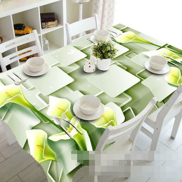 3D Flower 811 Tablecloth Table Cover Cloth Birthday Party Event AJ WALLPAPER AU