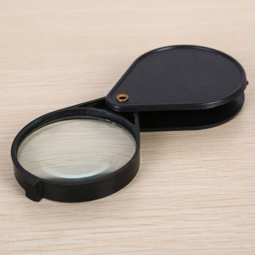 Folding 10X Mini Pocket Jewelry Magnifier Magnifying Eye Glass Loupe Lens new RU