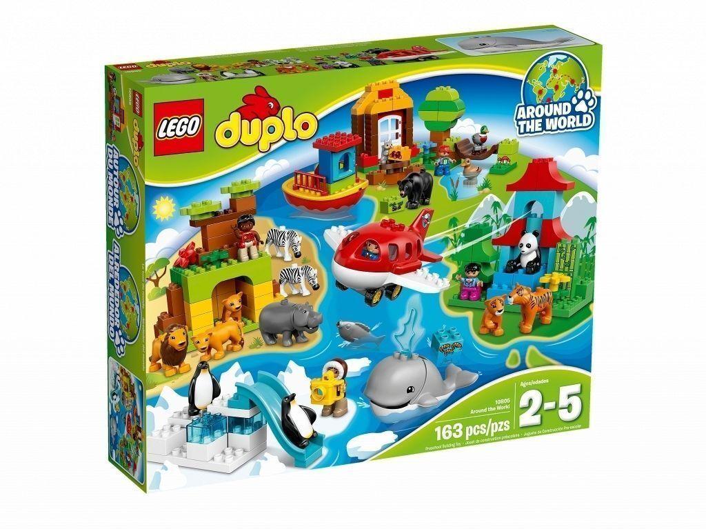 LEGO Duplo Town 10805  Viaggio Intorno al Mondo