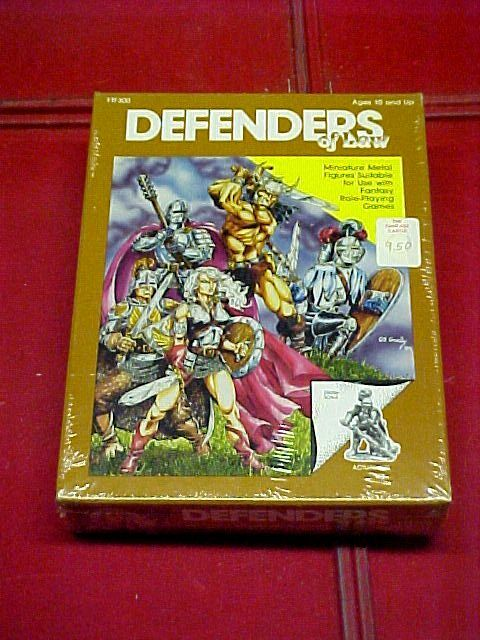 Ral Partha   DEFENDERS of Law   FTF300   Sealed - RARE