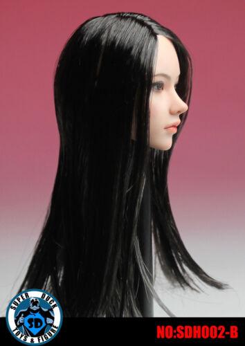 PHICEN 1//6 Super Flexible Seamless Body Black Hair Female Beauty Doll Set USA