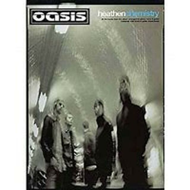 Oasis Heathen Chemistry Piano Voice Guitar Sheet Music Songbook B58