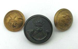 Lot-de-3-boutons-britanniques-Light-Infantry-et-3rd-Dragoon-Guards