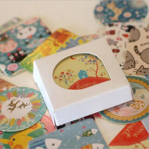 38Pcs DIY Lovely Girl Paper Sticker Vintage Diary Decoration Scrapbooking SP