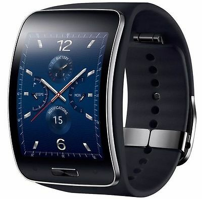 Samsung Galaxy S Gear SM-R750V Curved Super Amoled Smart Watch GSM Unlocked