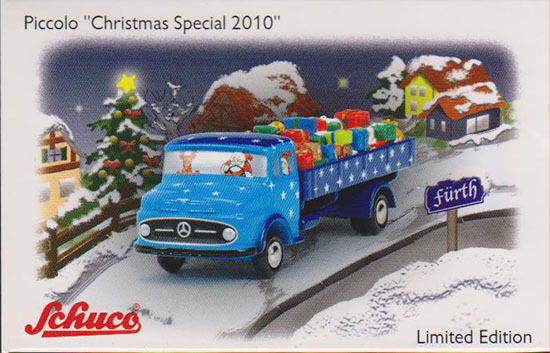 450586500 - Schuco Piccolo Set  Christmas Special 2010  - 1 90 (Piccolo)