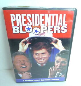 Presidential-Bloopers-DVD-2004-DVD-and-Case-Very-Good