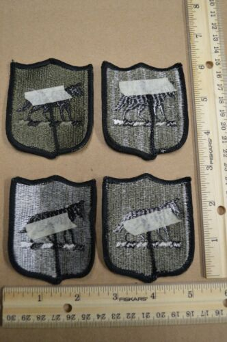 Lot of 100 South Dakota Army National Guard Subdued Embroidered Unit Patches