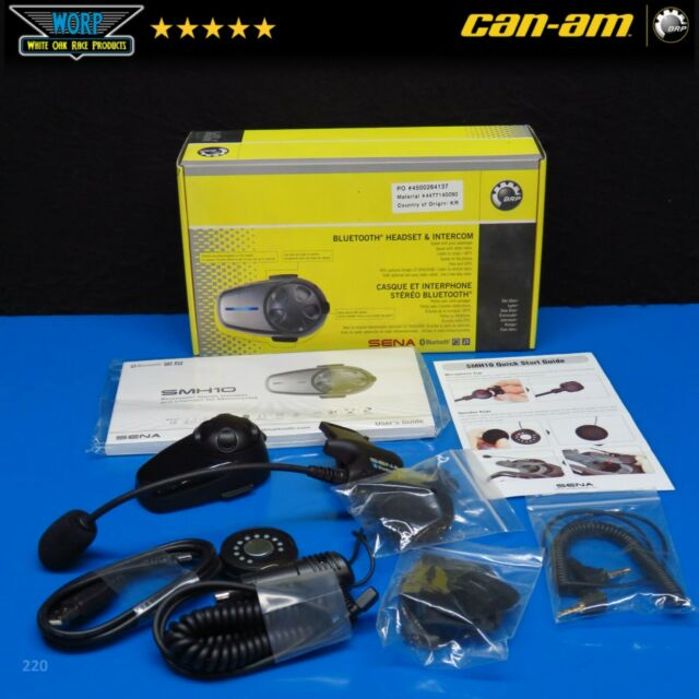 2014 Can Am Spyder Bluetooth Headset Intercom 4477140090 For Sale Online Ebay