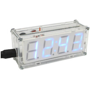 4-Digit Diy Led Elektronische Uhr Kit Minicontroller 0,8 Zoll Digital Tube  X8K6