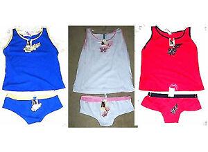 Sz-Medium-NWT-Femina-Cami-Shirt-amp-Boyshorts-Bottoms-Pajamas-Sleep-Set