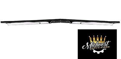 3 DAY SALE Hood Lip Molding 68-72 Nova front edge trim Chevy II 68 69 70 71 72