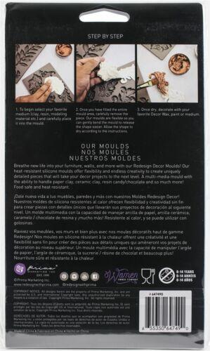 "Prima Marketing Re-Design Mould 5/""X8/""X8mm-Coral Reef 647490"