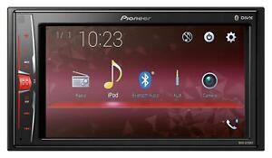 Pioneer-MVH-A210BT-Doppel-DIN-MP3-Autoradio-Touchscreen-Bluetooth-USB-iPod-AUX-I