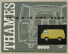 FORD THAMES 10/12 & 15 CWT VANS Sales Brochure Apr 1960 #TV/V6810/460