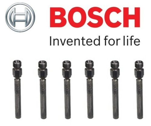 NEW Set of 6 Fuel Injectors OEM Bosch 0437502004 For Porsche 911 Saab 900