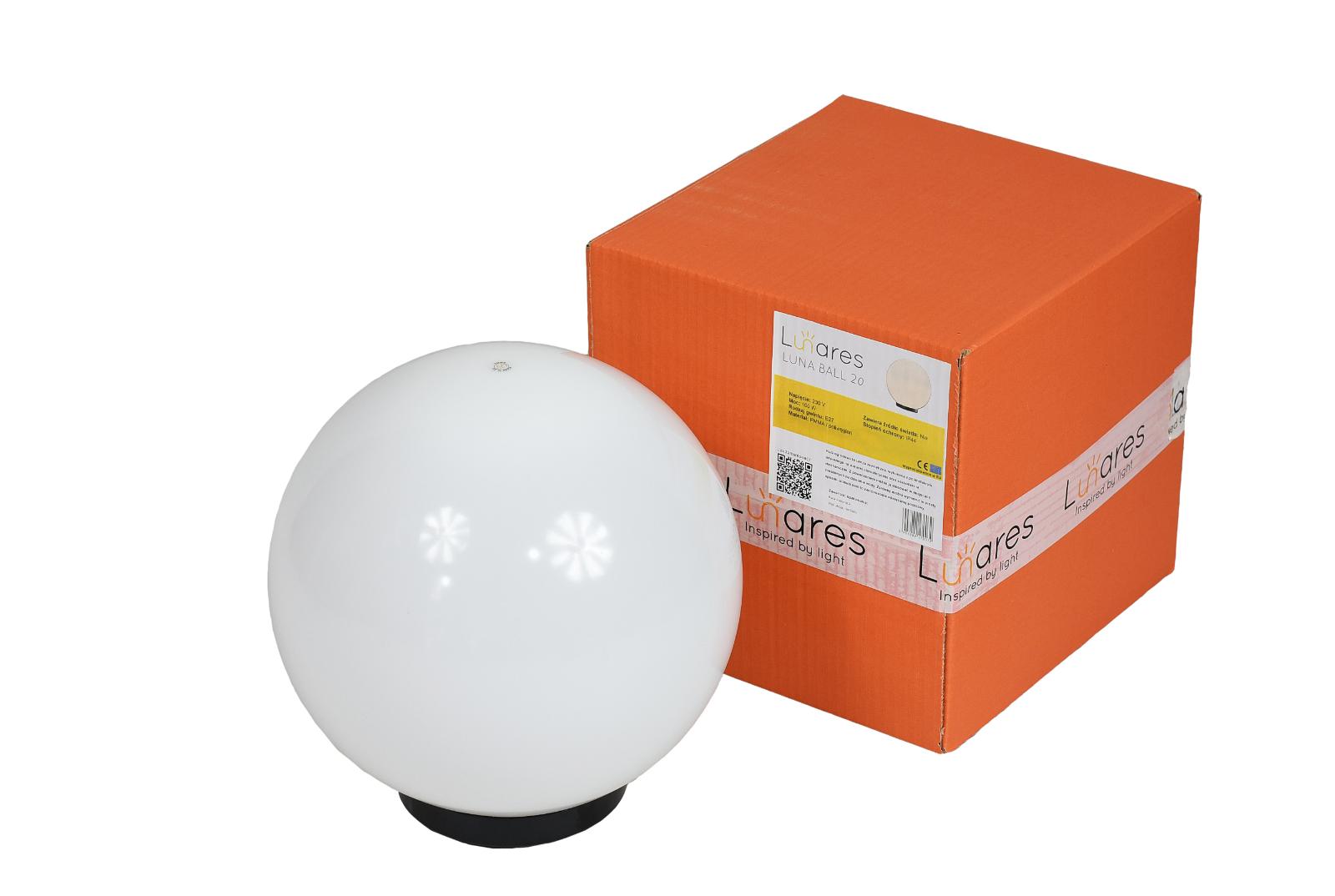 Globe Garten Luna Ball 40 cm weiß Kugelleuchte DekolampeDekokugel DekolampeDekokugel DekolampeDekokugel Mond Terrasse | Haltbarer Service  | Attraktives Aussehen  | ein guter Ruf in der Welt  af19df