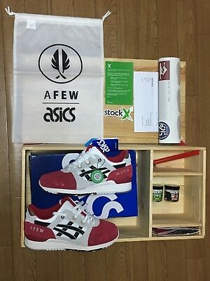 official photos 2a702 d73a3 Afew x Asics Gel Lyte III Koi 25th Anniversary Special Wooden Box | eBay