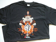 SAN FRANCISCO SF GIANTS 4TH ANNUAL BILL GRAHAM TRIBUTE BLACK LARGE T-SHIRT , SGA