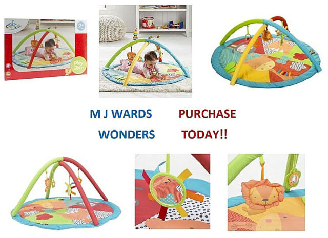 Playmats Carousel Activity Play Gym