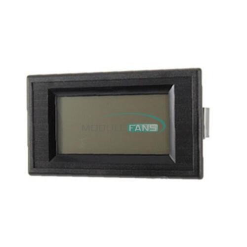 Blue Digital Voltmeter Panel 4-Wire AC 0-500V LCD Alternating Voltage Meter
