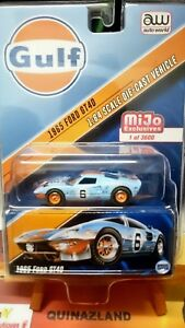 Auto-World-Gulf-1965-GT40-Exclusives-3600-Pieces-N12