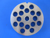 Size #22 Grinding plate disc for LEM Hobart Meat grinder 4822 4222 4622 etc