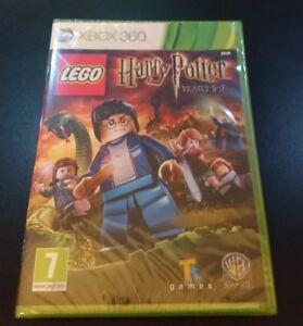 LEGO-Harry-Potter-anni-5-7-MICROSOFT-XBOX-360-Sigillato-Nuovo-di-Zecca-amp-GRATIS-UK-P-amp-P