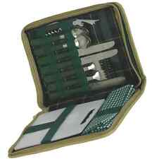 PICNIC WALLET TRAVEL BAG CARRYING CASE SET FOR TWO 2 CUTLERY CARVING BOARD FOLDA