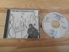 CD Jazz Matt Kendrick Unit - Bass City (10 Song) SUITCASE MUSIC